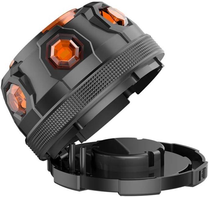 Luz de Emergencia Luces de Carretera LED de Carretera Luces Intermitentes de Advertencia Luz de Emergencia de Emergencia con Base magn/ética para autom/óvil Motocicleta Bicicletas Cami/ón Barco