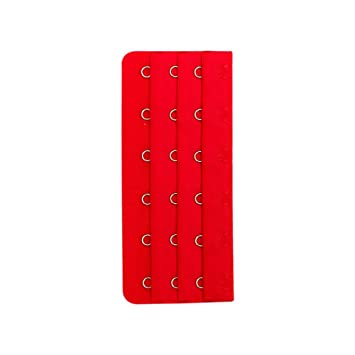 6 ganchos 3 filas 18 ganchos Alargar sujetador de espacio entre extensor Correa Pack de 4
