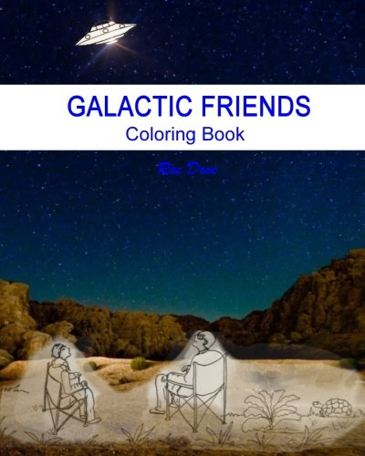 Galactic Friends: Coloring Book