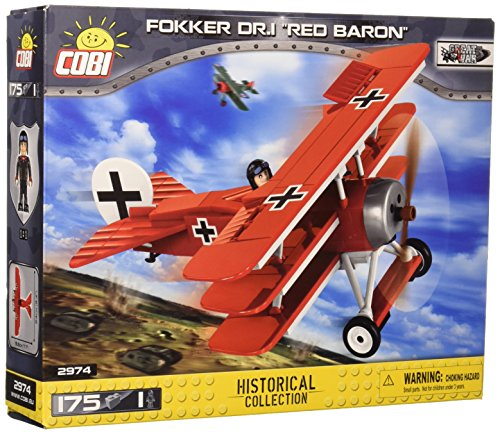 Historical Set - COBI Historical Collection Fokker DR.1