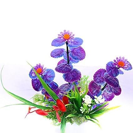 eDealMax Flor acuario de plástico plantas del acuario ornamento, 12cm