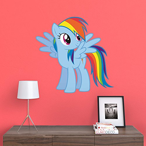 Rainbow Dash Products (FATHEAD Rainbow Dash-X-Large Officially Licensed My Little Pony Removable Wall)