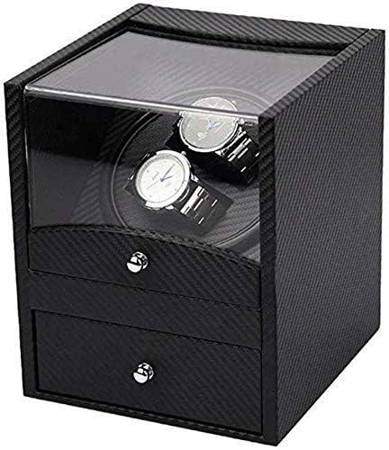 時計ワインダー、機械式シングルテーブルハイエンド時計収納ボックス、家庭用電気モーター巻線テーブルシェーカー/金属素材
