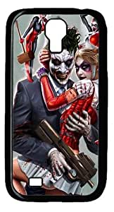 Joker and Harley Quinn Custom Designer Samsung Galaxy S4 SIV I9500 Case Cover - Polycarbonate - Black