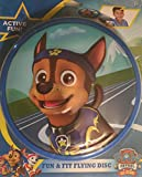 "Chase Paw Patrol Frisbee Fun & Fit Flying Disk 9 1/4"" Nick JR"