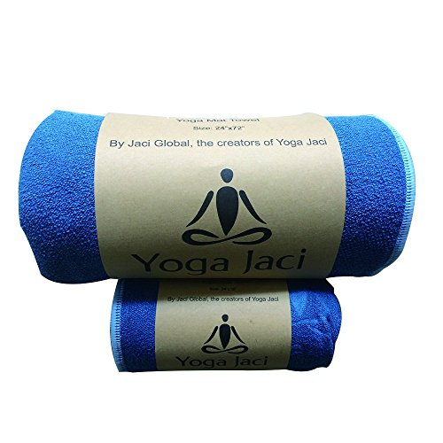 Yoga Jaci Yoga Mat Towel - Hand Towel - Combo Set - Non Slip and Skidless - Sweat Absorbent -...