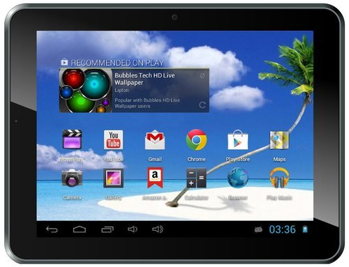 Proscan 8'' Google Certified w Google Play Android Tablet w/ 4GB storage, Wi-Fi, MicroSD Slot & HDMI Output by Proscan