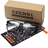 5zero1 Fake Big Frame Glasses For Women Men Fashion Classic Retro Clear Eyeglasses