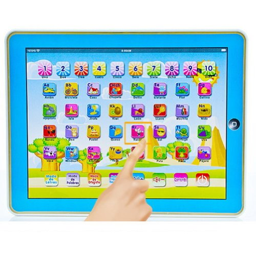 Spanish Touch screen Educational Learning Tablet product image