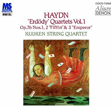 Amazon | ハイドン:弦楽四重奏曲第75番・第76番・第77番 | クイケン ...