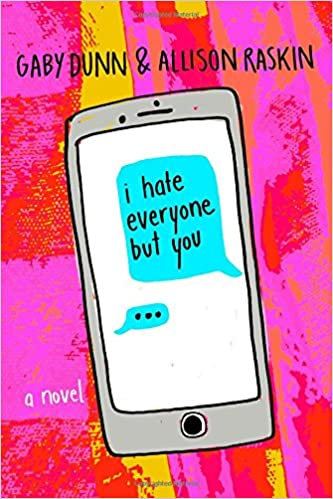 Image result for i hate everyone but you book