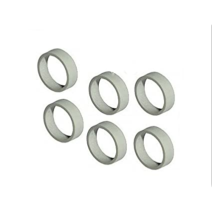 Amazon.com: Lego Parts: Replacement Rubber Train Rims for 4.5v and ...