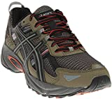 ASICS Men's Gel-Venture 5 Trail Runner, Dusky Green/Black/Cinnamon, 7 M US