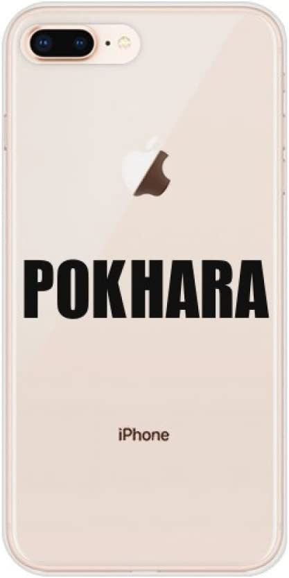 Amazon Com Pokhara Nepal City Name For Apple Iphone 7 8 Plus Phone Case Flexible Soft Slim Transparent Cover