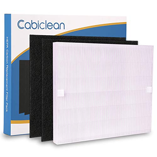 True HEPA Replacement Filter for Coway AP1512HH Air Purifiers 3304899 with 2 Carbon -