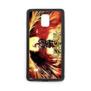 SamSung Galaxy Note4 cell phone cases Black League Of Legends fashion phone cases UIWE598492