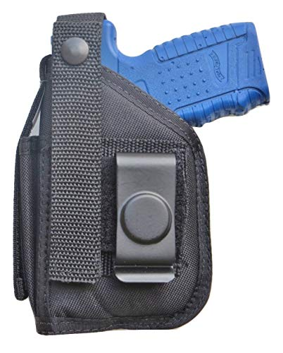 Hip Holster for Walther PPS & PPS M2 with Underbarrel Laser Mounted on Gun