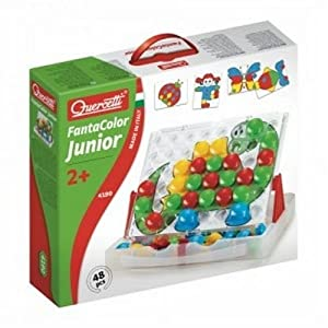Quercetti Fantacolor Junior Pegboard Set from International Playthings