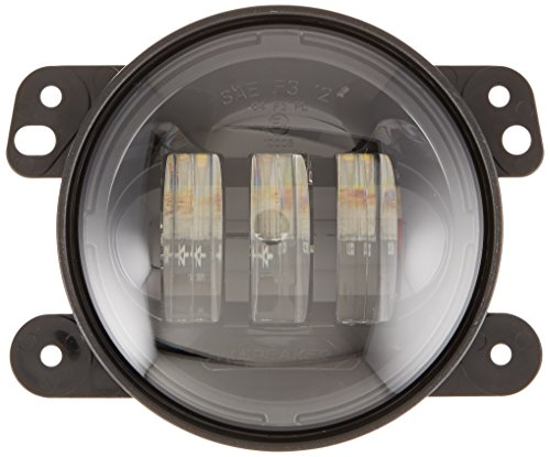 JW Speaker 6145J-B Black Bumper Fog Lamp, Pair