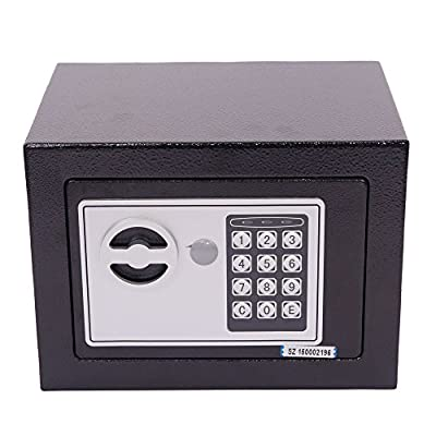 "Mefeir 9"" Electronic Digital Security Safe Box Keypad Lock, Home Office Hotel Jewelry Gun Cash Use Storage"