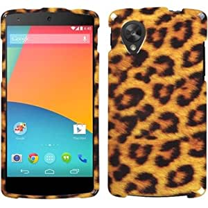 Case Cover For LG Nexus 5 D820/ D821 - Leopard Skin
