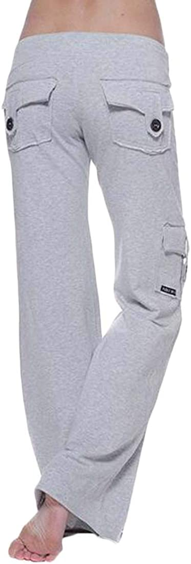 Wofupowga Mens Workout Sports Jogger Trousers Fitness Outdoor Pants