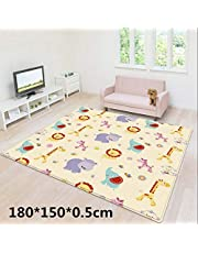 Baby Soft Climbing Mat,Portable Double-Sided Waterproof Foam Picnic Mat,Kindergarten Children's Play Mat,Indoor and Outdoor Universal Carpet,71 x 59 x 0.2 Inches