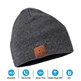 ee412500508 NERAON Newest Bluetooth 5.0 Wireless Bluetooth Beanie with Detachable HD  Stereo Speakers   Mic