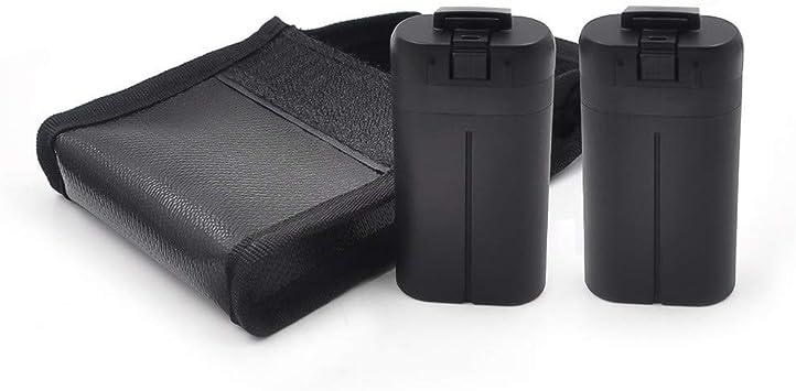 Lukame Mini Drone Bolsa a prueba de explosiones para Drone Batería de litio Hm Estuche protector para Dji Mavic Mini(Amarillo): Amazon.es: Bricolaje y herramientas