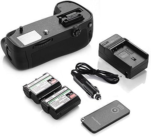 DS mb-d15電源バッテリーグリップパック+ 2x en-el15電池+充電器for Nikon d7100