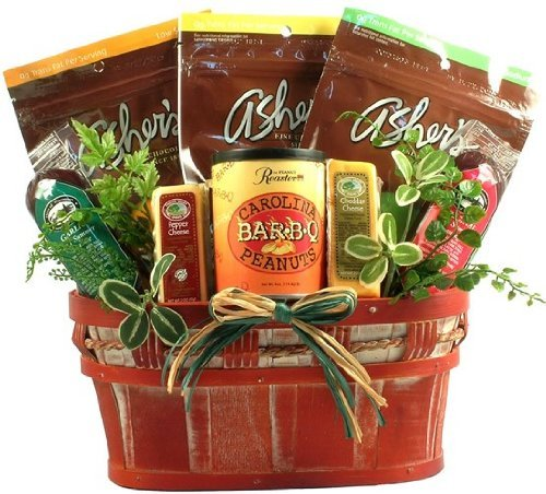 Healthy Living - Large, Sugar Free Gift Basket (Candies) by Gift Basket Village