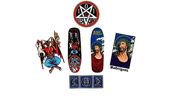 Cliche x 101 patrimonio Sticker Pack – 6 tabla de skate pegatinas ...