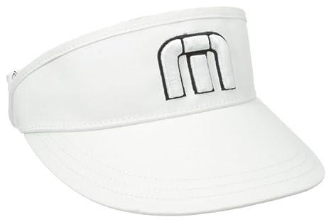 2a6b8ff3b Travis Mathew Men's Everly Golf Visors, White, One Size: Amazon.in ...