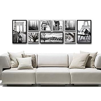 Attraktiv DARLY Wand Home Decor Modernen Europäischen Stil Malerei Schlafzimmer  Esszimmer Wandbild Schwarz Und Weiß