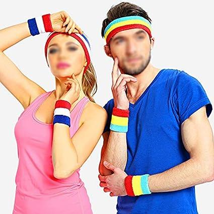 Skyeye Sport Suer Absorbant Chaud Serviette Bracelet Bandeau Costume Basketball Tennis Tennis De Table Badminton /Équipement Brassards et Bandeau