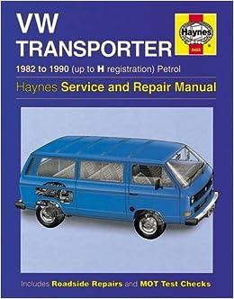 VW Transporter (water-cooled) Petrol (82 - 90) Haynes Repair Manual (Haynes Service and Repair Manuals)