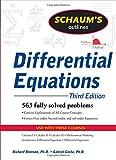 Schaum's Outline of Differential Equations, 3ed (Schaum's Outline Series)