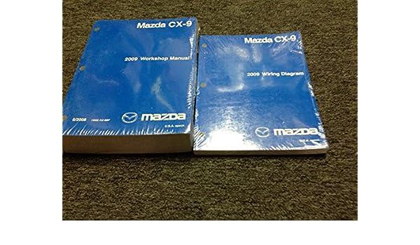 2009 mazda cx9 cx 9 service shop repair manual factory oem new w rh amazon com mazda cx-9 parts diagram mazda cx-9 parts diagram