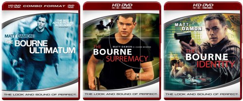The Bourne Trilogy (The Bourne Identity / The Bourne Supremacy / The Bourne Ultimatum) [HD DVD]