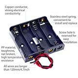 4Set 4 x AA Thicken Battery Holder with I Type