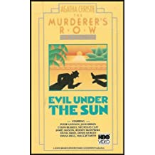 Agatha Christie: Evil Under the Sun [The Murderers Row Collection] VHS VIDEO