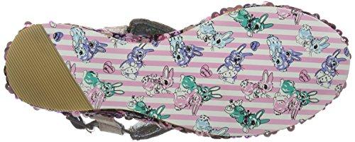 Irregular Choice Damen Cocoa Loco Sandalen Pink (Pink)