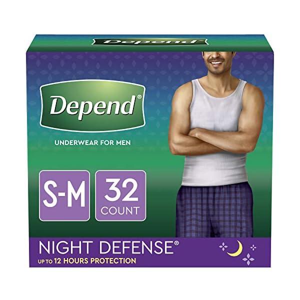 Depend Night Defense Incontinence Underwear for Men