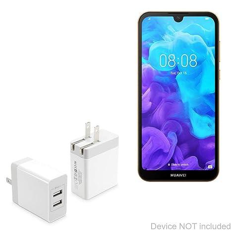 Amazon.com: BoxWave - Cargador de pared para Huawei Y5 2019 ...