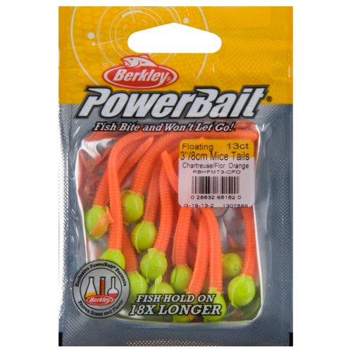 Berkley PowerBait Floating Mice Tails (Best Lures For Salmon Fishing Lake Michigan)