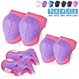 Kids/Youth Knee Pad Elbow Pads Guards Protective Gear Set for Roller Skates Cycling BMX Bike Skateboard Inline Skatings Scooter Riding Sports