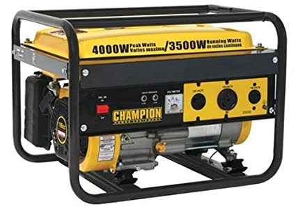 amazon com champion power equipment 46515 4 000 watt 196cc 4 stroke rh amazon com Champion S4 CDI Unit Wiring Diagram Haynes Ld-4100R Dumpmaster Wiring-Diagram