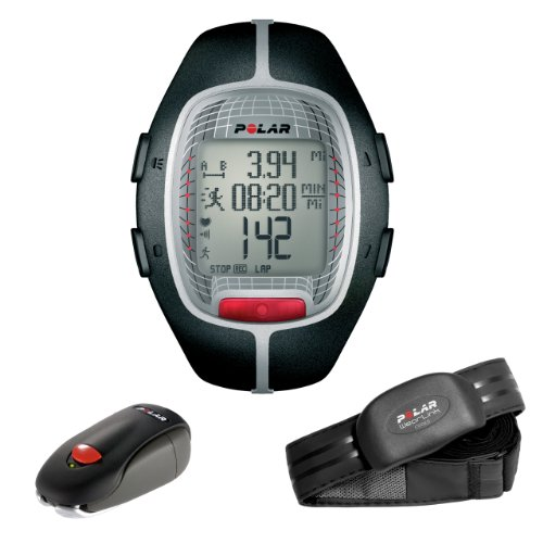 Polar RS300X SD Heart Rate Monitor Watch with S1 Foot Pod ...