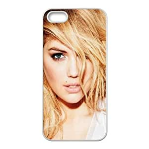 Celebrities Charming Kate Upton iPhone 5 5s Cell Phone Case White DIY Present pjz003_6522235