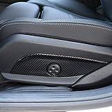 ABS Plastic Car Seat Adjust Switch Button Cover Panel Trim Car Accessories for Mercedes benz GLC CLS E C Class W205 W212 W213 Carbon Fiber